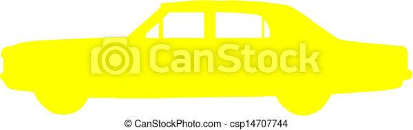 Vector. Car - csp14707744