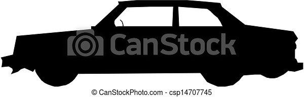 Vector. Car - csp14707745