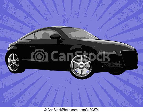 Vector car - csp3430874