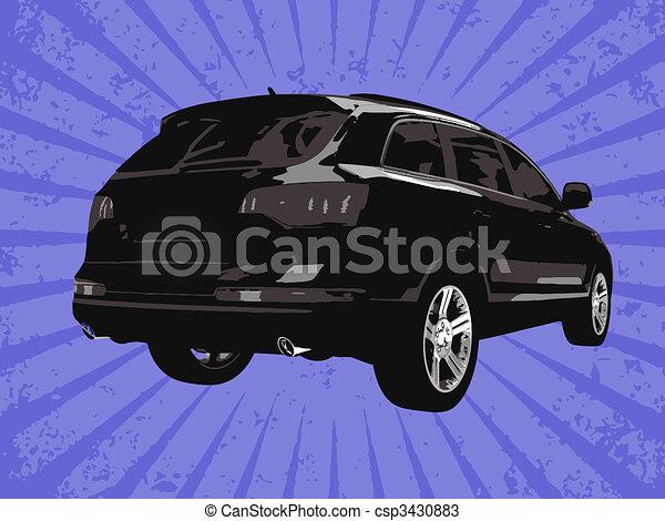 Vector car - csp3430883