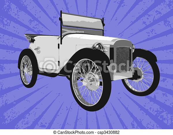 Vector car - csp3430882