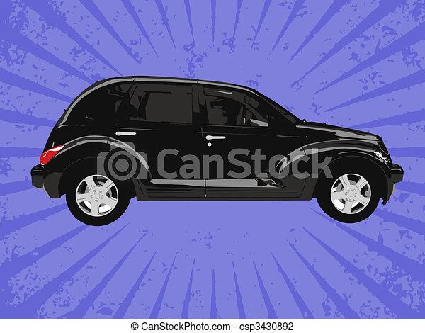 Vector car - csp3430892