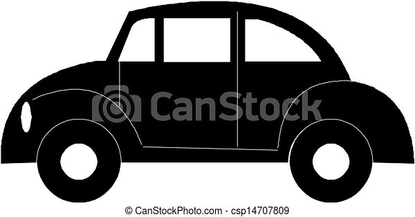 Vector. Car - csp14707809