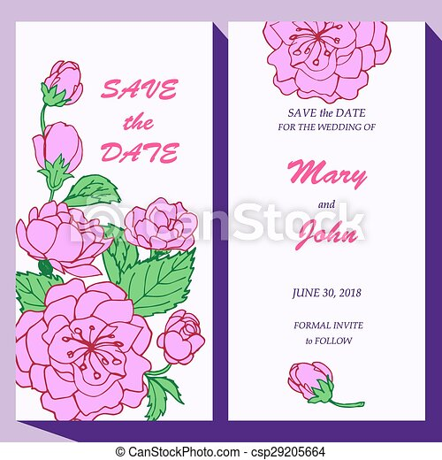 Vector Card Template For Save The Date Baby Shower Mothers Day - Save the date baby shower email template free