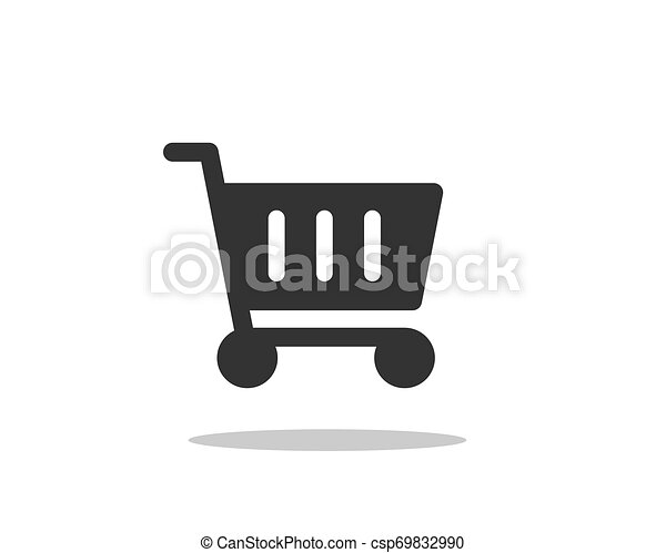 Vector de icono de carro de compras - csp69832990