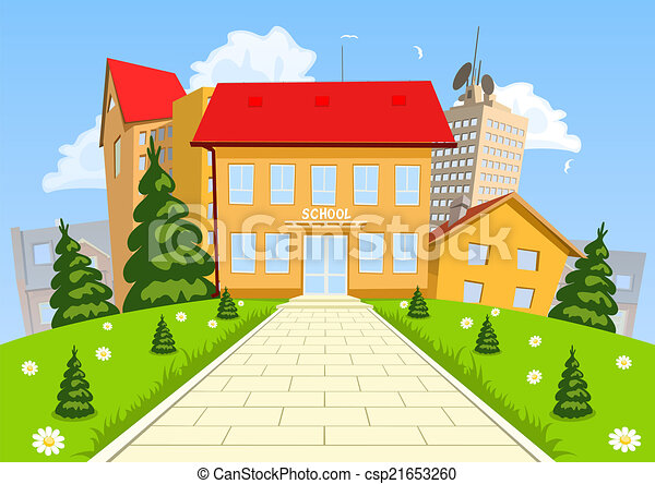 my school building Building school community, culture, and climate how do students, staff, and strangers feel when they walk into your school building many principals work hard to.