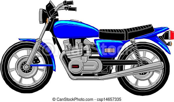 vector cartoon motorcycle vectors search clip art illustration rh canstockphoto com couple on motorcycle cartoon images cartoon biker images