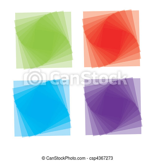 Vector cartoon style icon set - csp4367273
