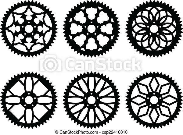 Vector chainrings pack - csp22416010