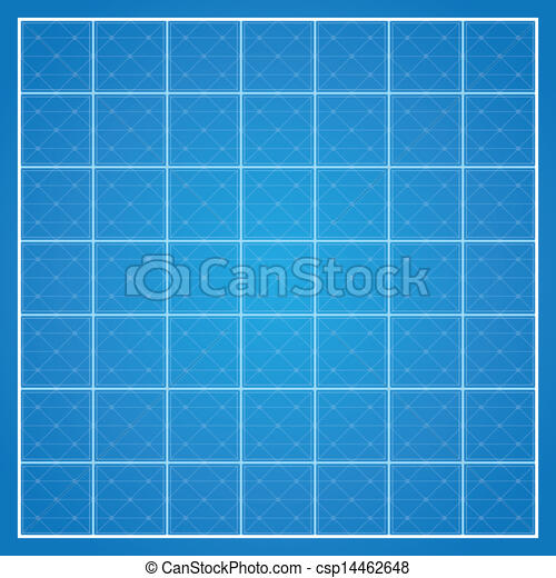 Vector checked blueprint background with white border abstract vector checked blueprint background malvernweather Choice Image