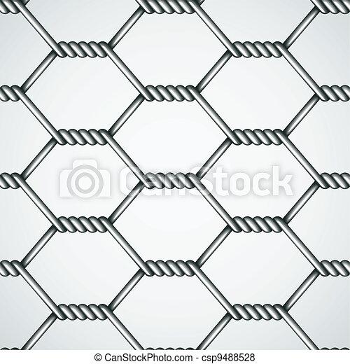 Vector chicken wire seamless background vector - Search Clip Art ...