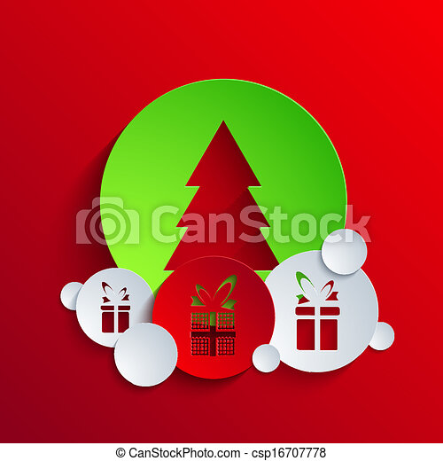 Vector christmas background. Eps 10 - csp16707778
