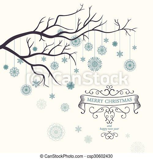Vector Christmas Background - csp30602430