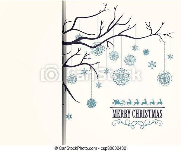 Vector Christmas Background - csp30602432