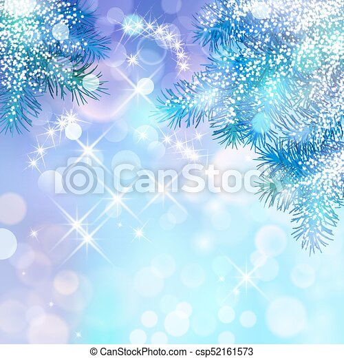 Vector Christmas Background - csp52161573