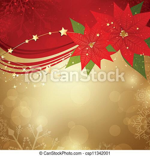 Vector Christmas Background - csp11342001