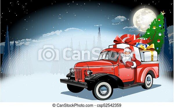 Vector Christmas Card - csp52542359
