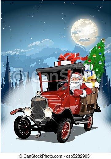 Vector Christmas Card - csp52829051