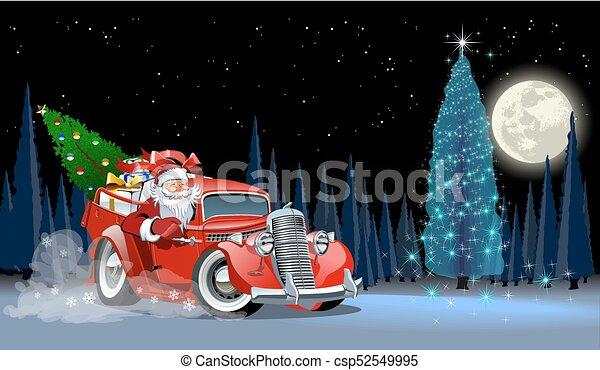 Vector Christmas Card - csp52549995