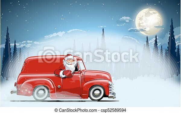 Vector Christmas Card - csp52589594