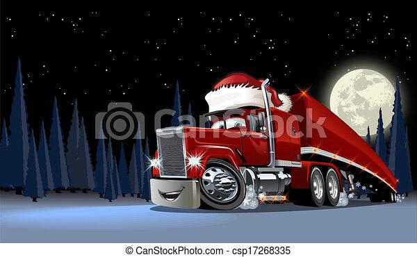Vector Christmas Card - csp17268335