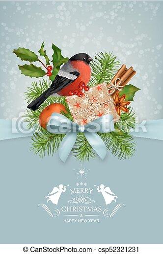 Vector Christmas Card - csp52321231