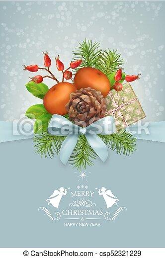 Vector Christmas Card - csp52321229