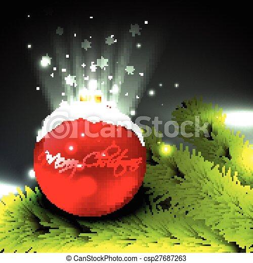 vector christmas design - csp27687263