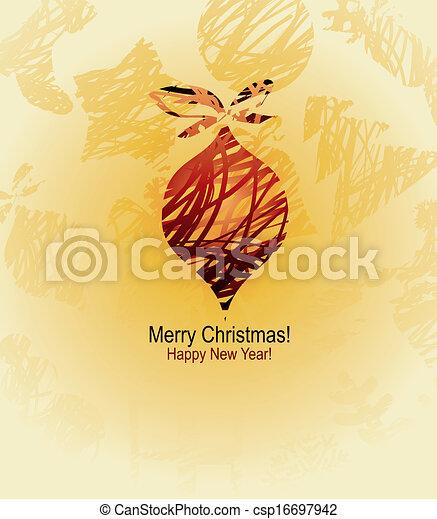 vector christmas design - csp16697942