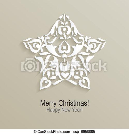 vector christmas design - csp16958885