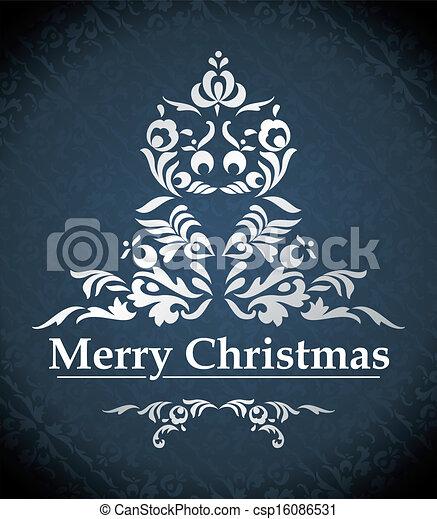 vector christmas design - csp16086531