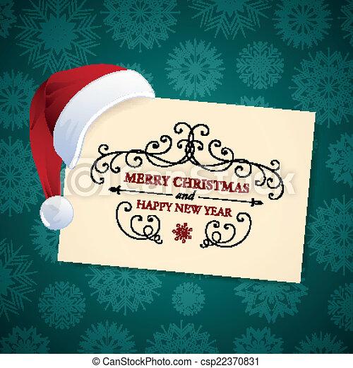 Vector Christmas Design - csp22370831