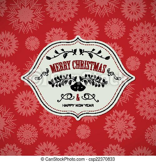 Vector Christmas Design - csp22370833