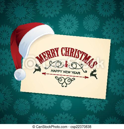 Vector Christmas Design - csp22370838