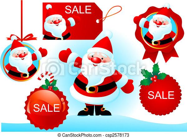 Vector Christmas design - csp2578173