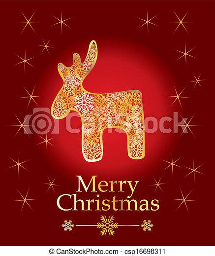 vector christmas design - csp16698311