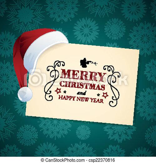 Vector Christmas Design - csp22370816