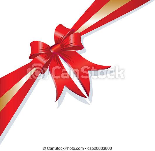 vector christmas gift ribbon vector christmas gift red and rh canstockphoto com ribbon vector art black and white ribbon vector artwork