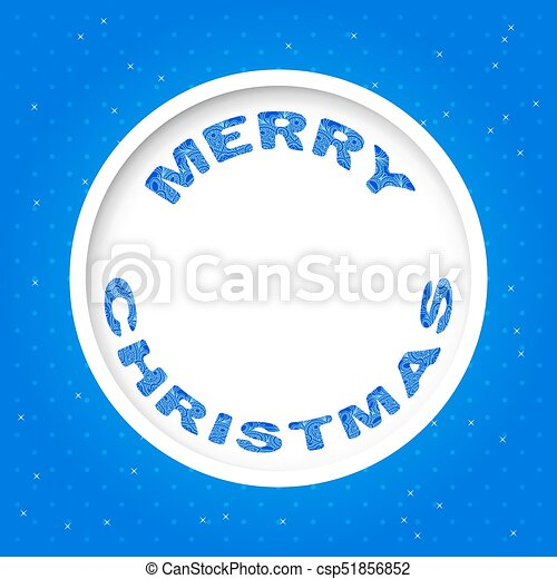 Vector Christmas Invitation Card