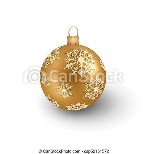 Vector Christmas Ornament - csp52161572