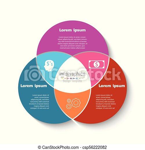Vector circle infographic template business concept with 3 options vector circle infographic template business concept with 3 options parts steps or processes cheaphphosting Choice Image