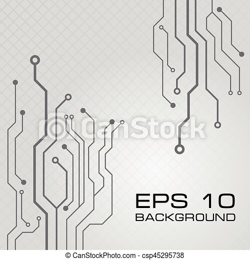 Vector circuit board design background. Vector circuit board vector ...
