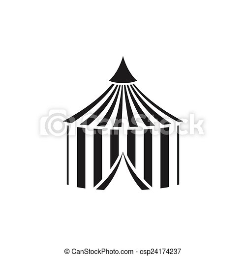 Vector Circus Tent  sc 1 st  Can Stock Photo & Vector circus tent. Vector illustration of a circus tent vectors ...