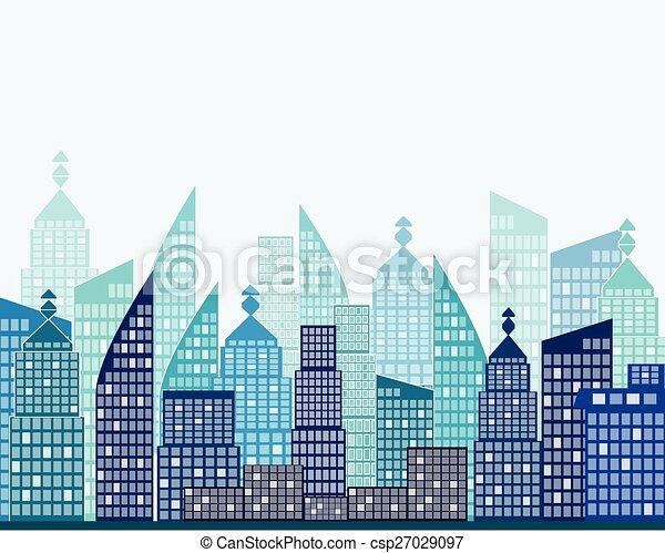 vector city - csp27029097