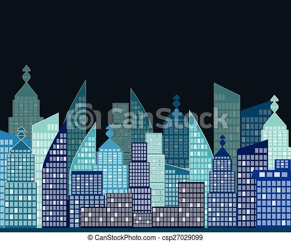 vector city - csp27029099