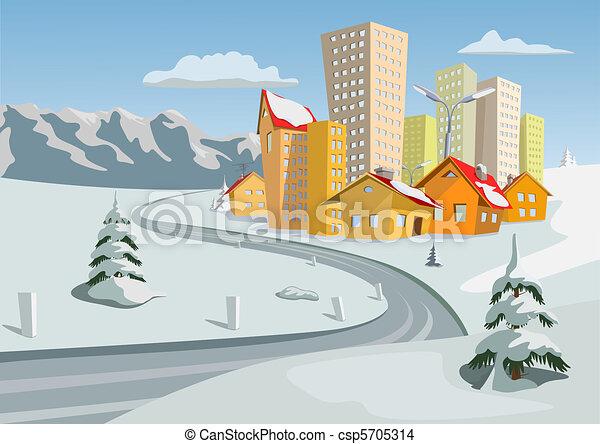 Vector city - csp5705314