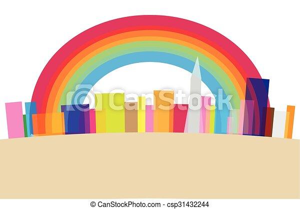 Vector City Landscape - csp31432244