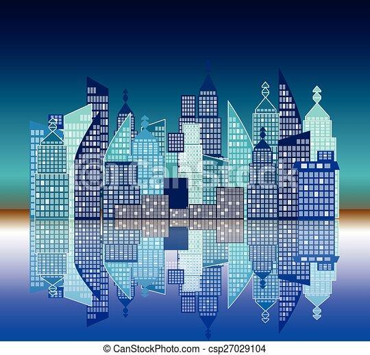 vector city - csp27029104