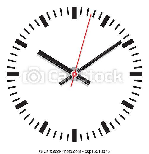 vector clock face - csp15513875