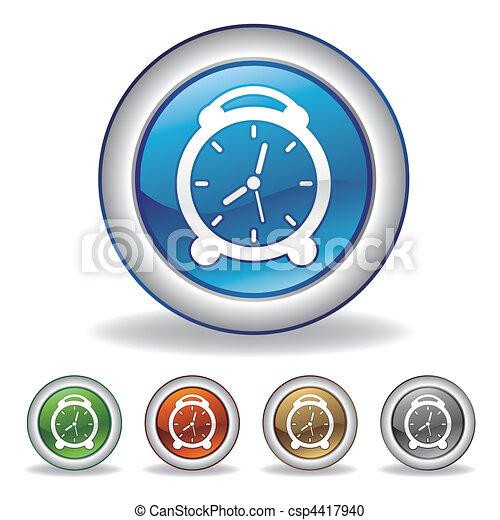vector clock icon - csp4417940